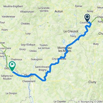 Tag4 Tour 2020 Nignolle nach Pierrefitte sur Loire
