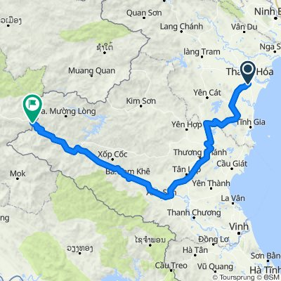 VN_Thanh Hoa - Nam Can (Grenze zu LA)