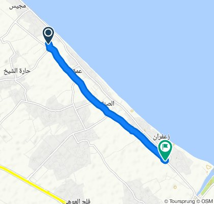 Snail-like route in