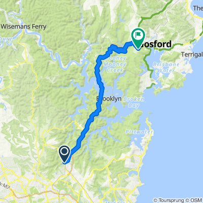 Hornsby to Kariong
