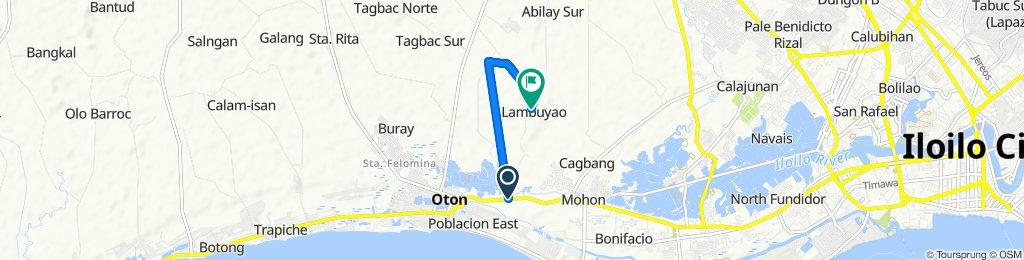 Restful route in Oton