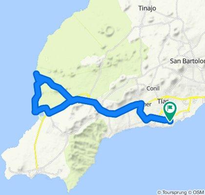Lanzarote-Rundtour: El Golfo