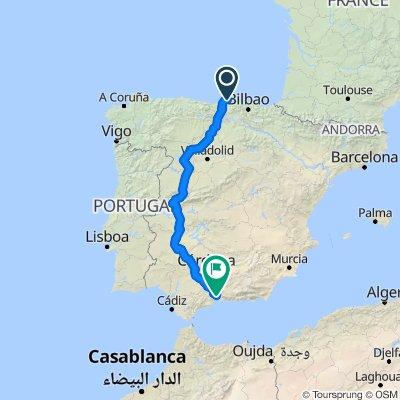 Santander to Riogordo