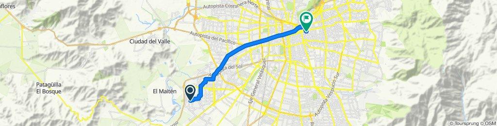 Ruta tranquila en Providencia