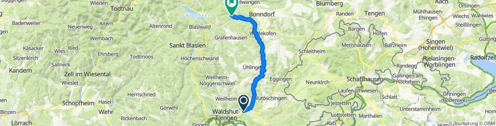 Steinatal komplett bis Sommerau, 872m