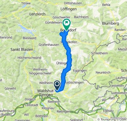 Steinatal, Tiengen - Bonndorf, 852m