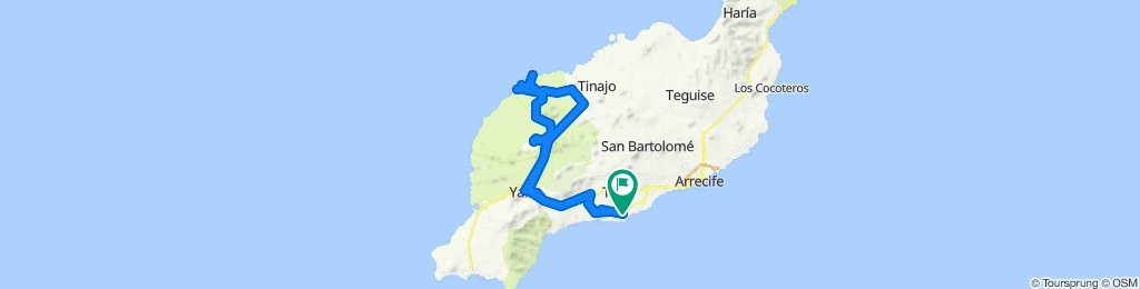 Lanzarote-Rundtour: Nationalpark-Timanfaya