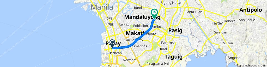 Pasay to Cubao
