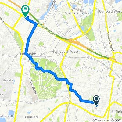 Strathfield South to Gateway Business Park