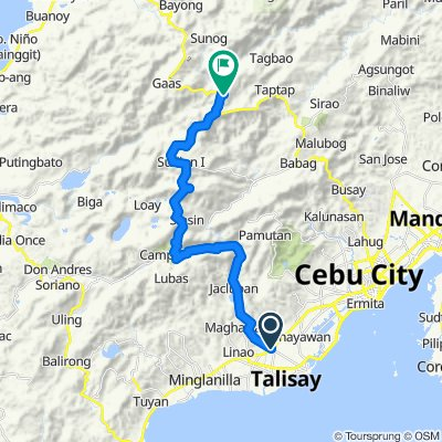talisay to cantipla