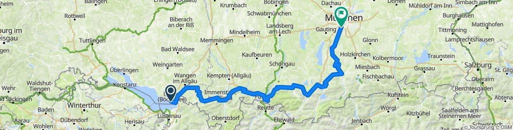 Bodensee-München-Radweg