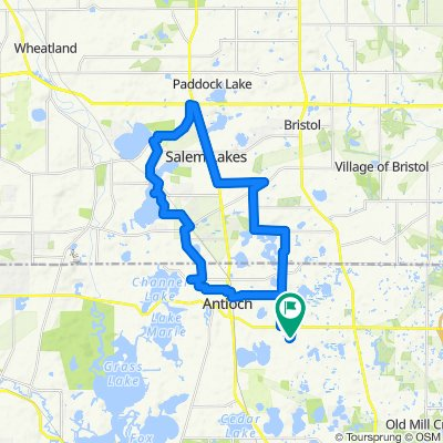 Cycling routes and bike maps in and around Antioch | Bikemap ...