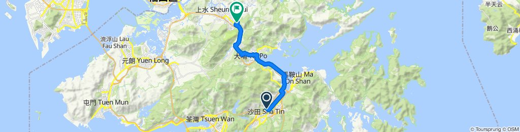 Shatin to Fanling