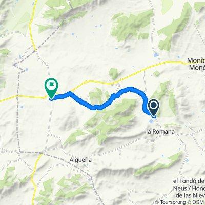 La Romaneta - Cases del Senyor - Enzebres - El Pinós