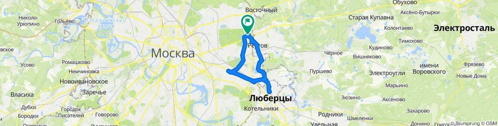Велоездки зимние сухие Рязанский пр-т - Косино-Ухтомский -  Люберцы 25 12 2019