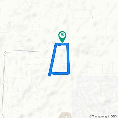 Moderate route in Weeki Wachee