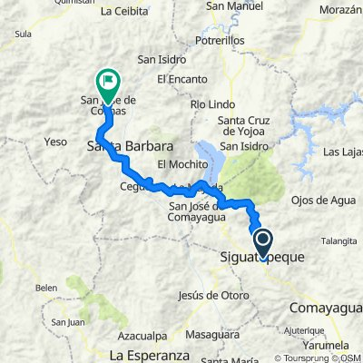 Ruta tranquila en San José de Colinas