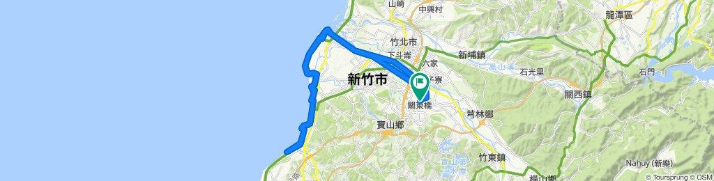 寧靜的路線 東區2倍17公里海岸線