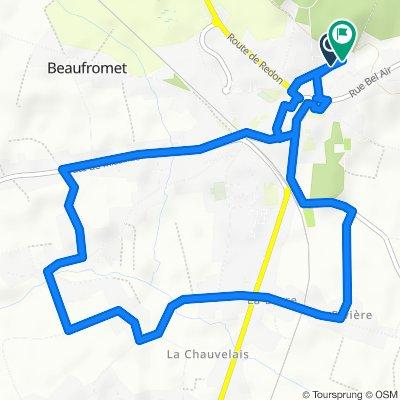 Itinéraire facile en Saint-Gildas-des-Bois