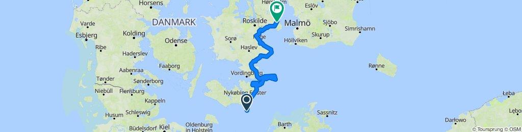 Rostock - Kopenhagen
