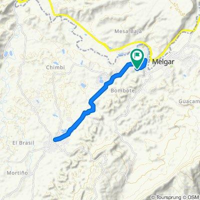 Paseo lento en Melgar