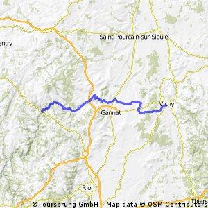 Vichy - Perpignan 1996 Etappe 2