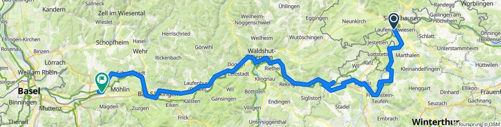 19-05-22 Rheinfall Schaffhausen - Rheinfelden