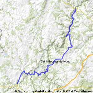 Vichy - Perpignan 1996 Etappe 3