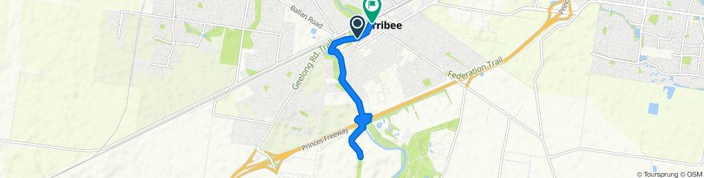 Easy ride in Werribee