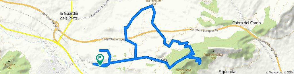 Vuelta al Tossal Gros (Montblanc)