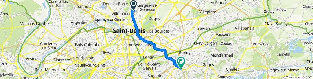 Route stable en Rosny-sous-Boisc