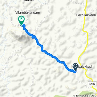 Restful route in Wayanad