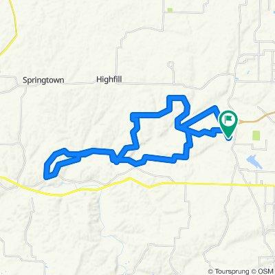 Elm Springs West Route