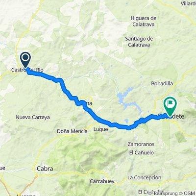 Itinéraire reposant en Alcaudete