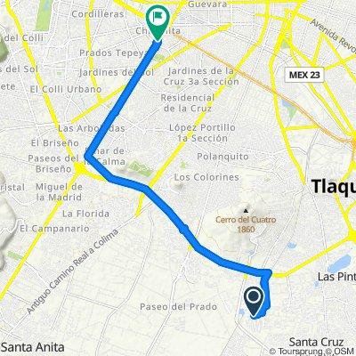 Paseo rápido en Guadalajara