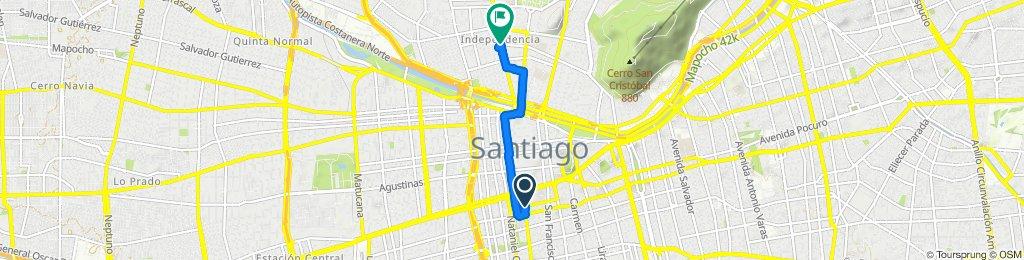 Paseo rápido en Independencia