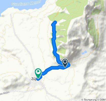 Ruta moderada en Zújar