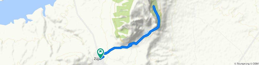 Ruta relajada en Zújar