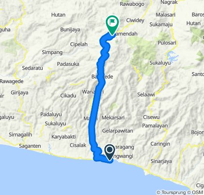 jayanti High-speed route in
