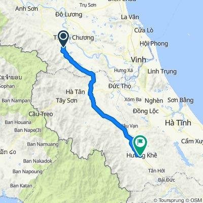 HCM tea to Huong Khe
