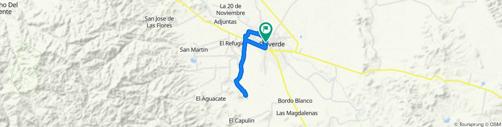 Easy ride in Rioverde