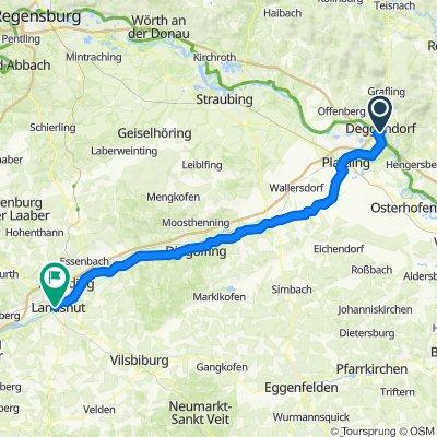 08 - Deggendorf - Landshut - 82km, 310HM