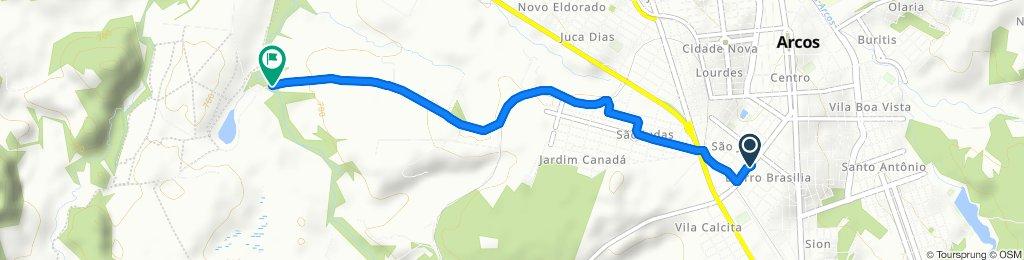 Itinéraire modéré en