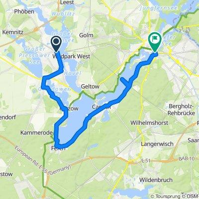 Von Werder nach Potsdam Hbf
