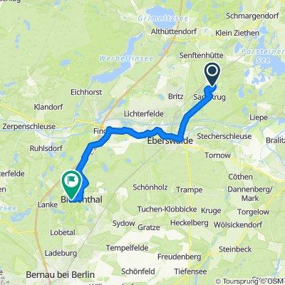 Via Imperii Etappe 05: Chorin - Biesenthal