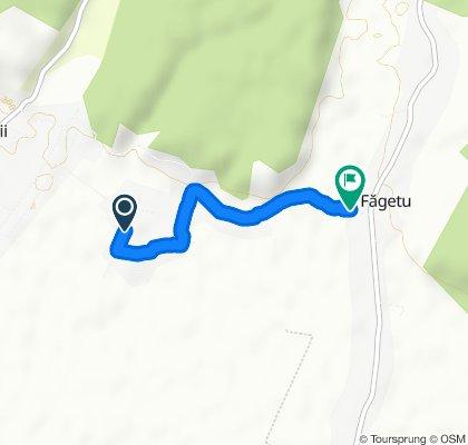 Moderate route in Găești