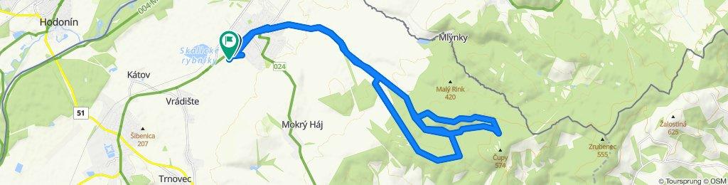 Slow ride in Skalica