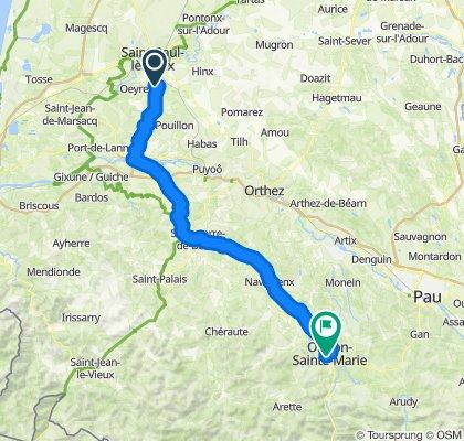 2e deel route C Santiago