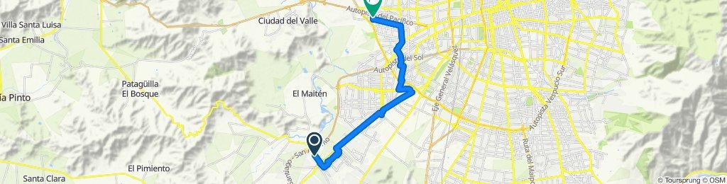 Paseo rápido en Pudahuel