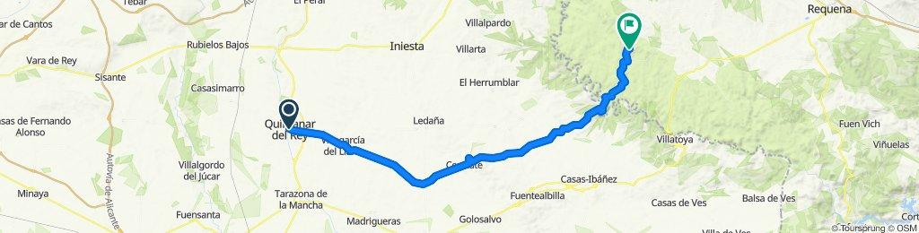 Venta del Moro / Quintanar del Rey 63km